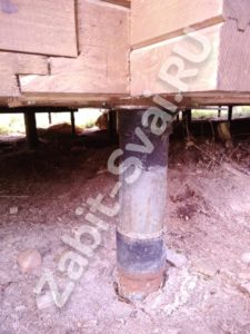 винтовых свай 1 225x300 - Минусы свайно винтового фундамента