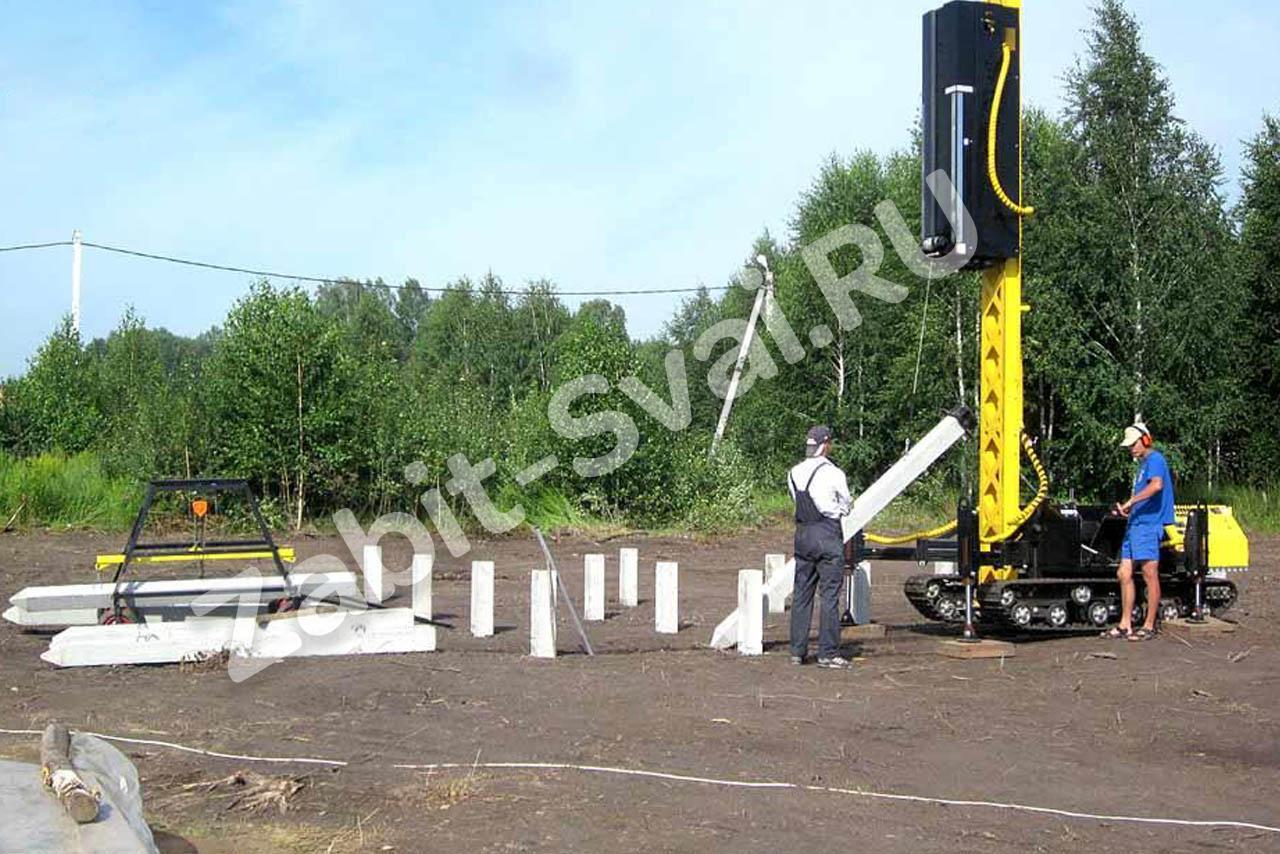 железобетонных свай 1 - Строительство фундаментов в Серпухове