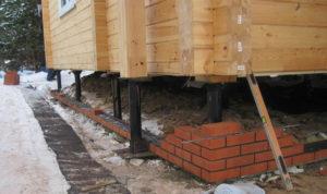 фундамента 300x178 - ремонт фундамента