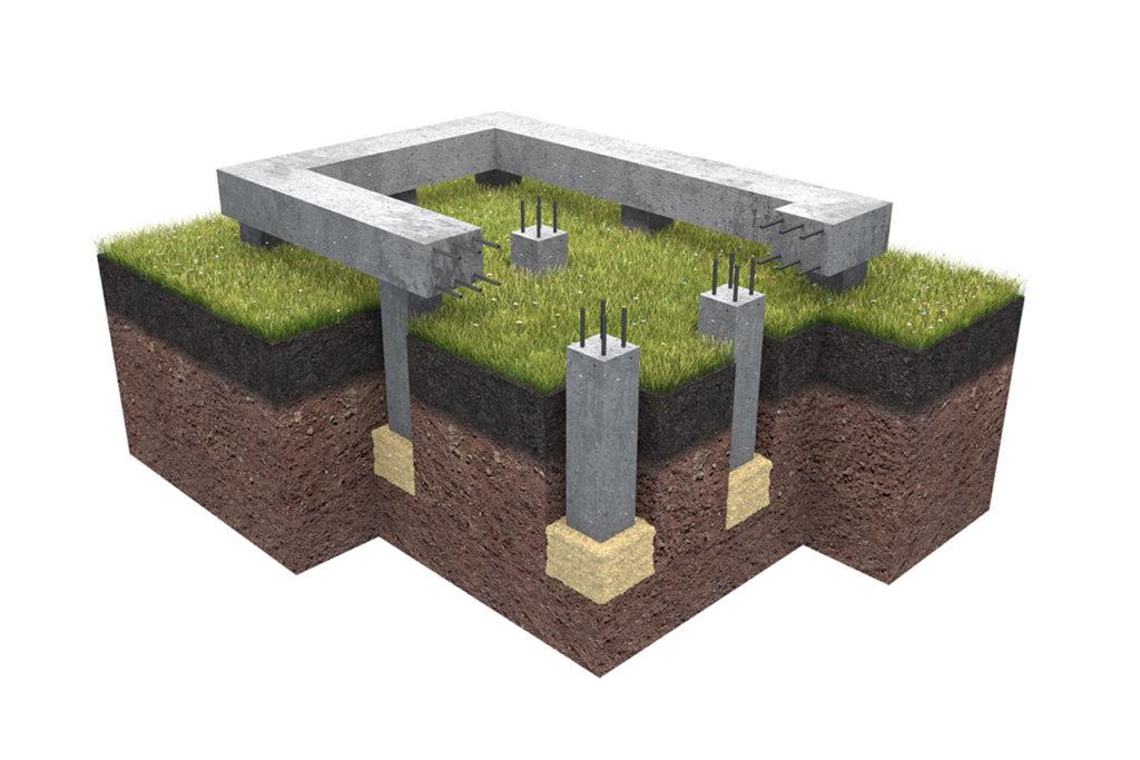 фундамент 1024x683 - Свайный бетонно забивной фундамент