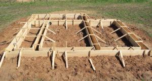 ленточного фундамента 300x160 - строительство ленточного фундамента