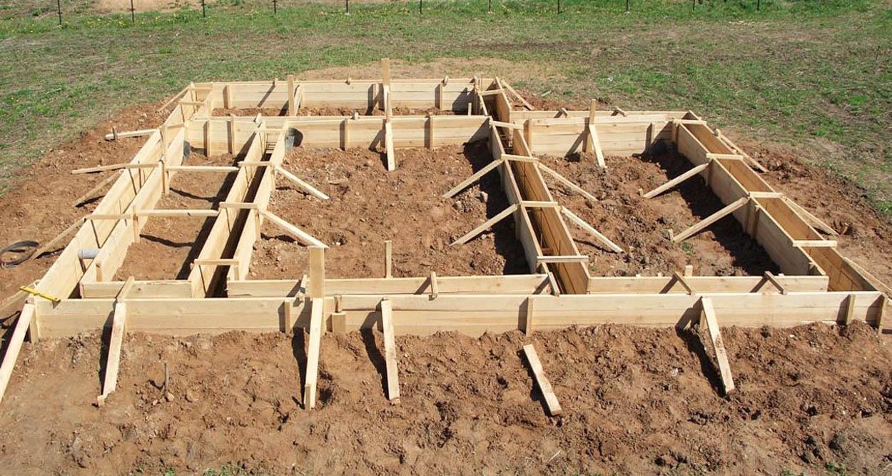 ленточного фундамента - Строительство ленточного фундамента