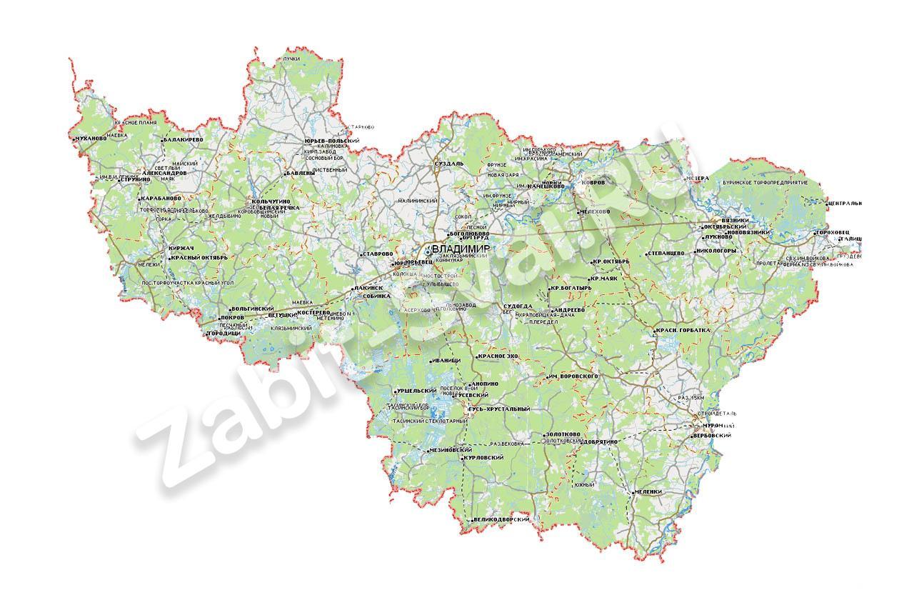 во владимирской области - Фундамент - Владимирская область