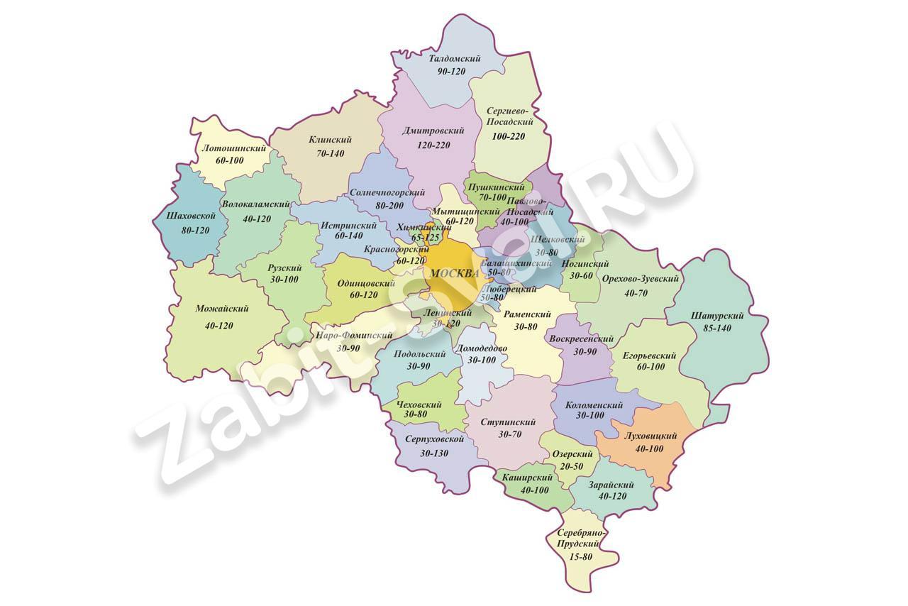 в московской области - Фундаменты в Московской области