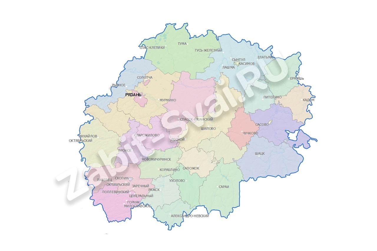 в рязанской области - Фундамент в Рязанской области