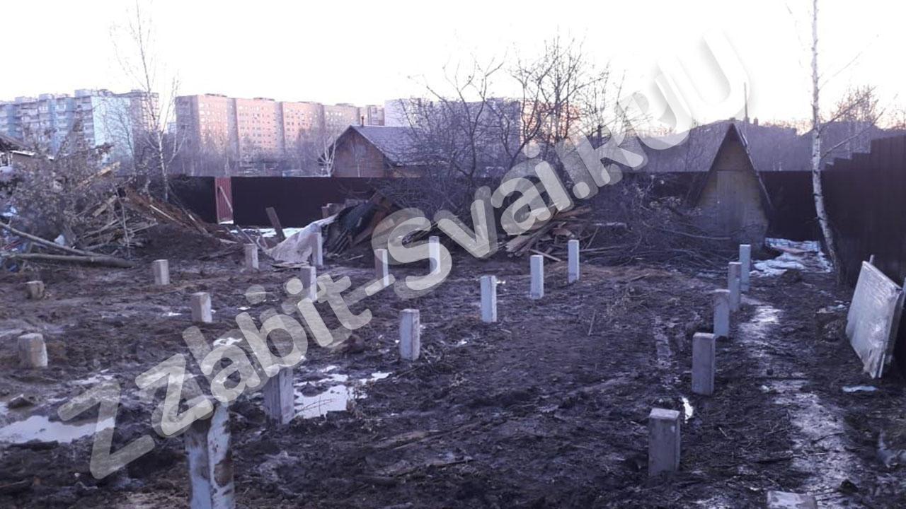 свай в Красногорском районе МО промо - Забивка свай в Красногорском районе