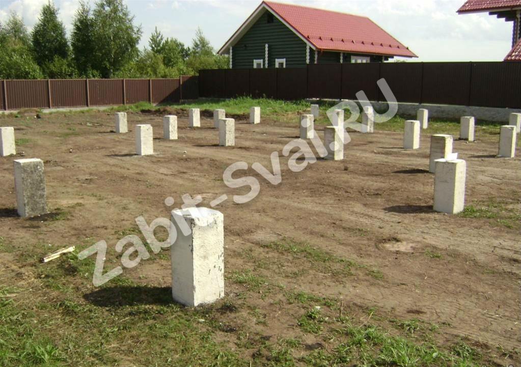 поле - Строительство фундамента в Ивантеевке