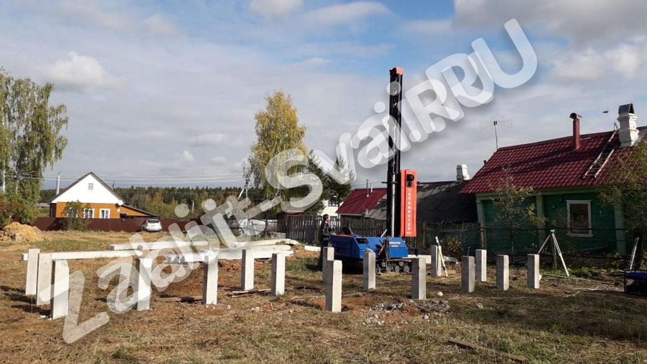 свай в Смоленской области 200х200 4 метра - Забивка свай - Смоленская область