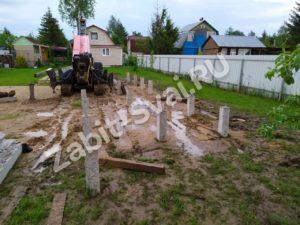 свай в Талдомком районе 6 300x225 - Забивка свай в Талдомском районе