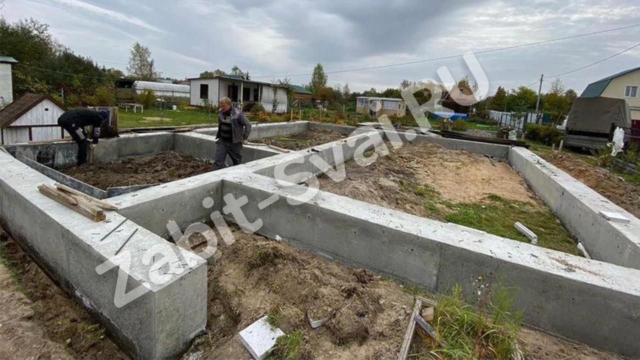 ростверка г.Шатура Сентябрь 2020 промо - Монтаж ростверка в Шатуре